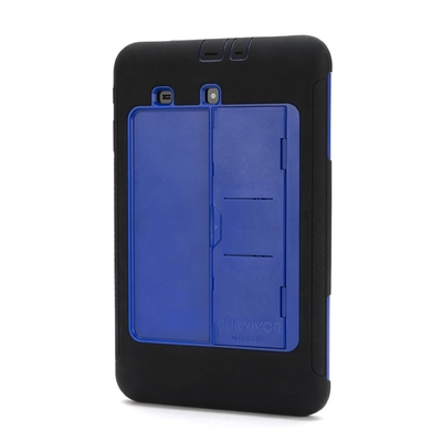 Coque renforcee Survivor Slim Protection Samsung Galaxy TAB E 9.6 pouces Bleu
