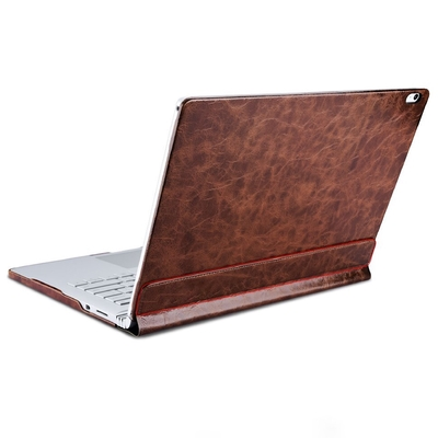 Etui Folio Cuir Protection Surface BOOK Coffee