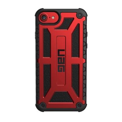 Ultra renforcee Coque iPHONE 7 iPhone 6 et 6S 4.7 pouces Rouge Crimson