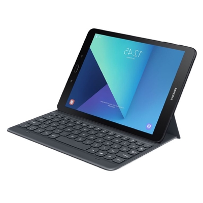 droit TAB S3 9.7 pouces Keyboard Cover Gris
