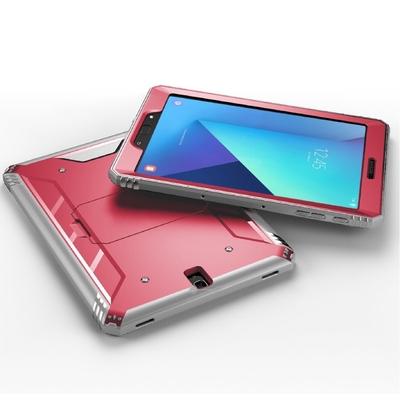 Coque de protection avec film ecran Galaxy TAB S3 9.7 Footer Rouge Magma
