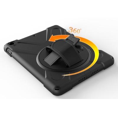 Coque renforcee iPad PRO 10.5 Rotative Sangle main Rotate 360 Noir