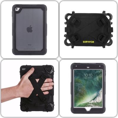 Survivor EXTREME Coque Renforcee iPad Mini 4 et Harnais main rotatif