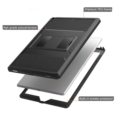 Protection coque Pied amovible et film ecran iPad PRO 10.5 pouces