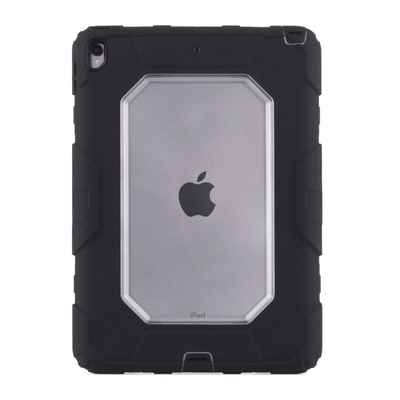 iPad PRO 10.5 Survivor All Terrain Coque de protection renforcee Professionnels Clear Noir