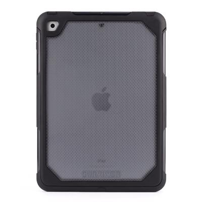 Survivor Extreme iPad 2017 9.7 pouces Coque protection Professionnelle Clear Noir