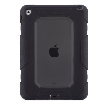 Survivor All terrain Rugged iPad 2017 9.7 Coque renforcee Professionnelle Smoke et Noir