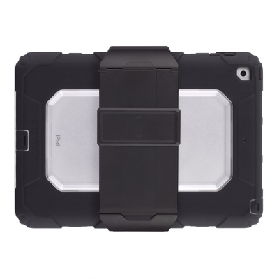 Coque renforcee Survivor All terrain Rugged iPad 2017 9.7 Clear Noir