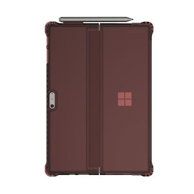 Coque Surface PRO et PRO 4 Protection Octane Bordeaux avec support stylet