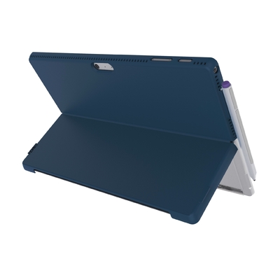 Coque de protection fine et design Surface PRO 2017 et PRO 4 Feather Bleu nuit