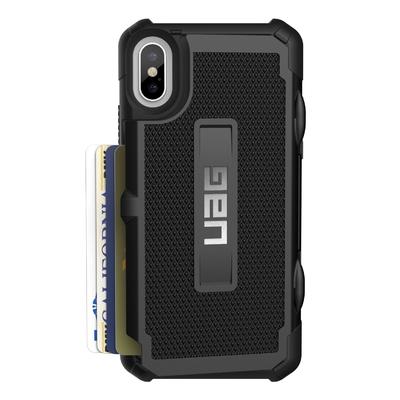 Trooper iPHONE X 5.8 pouces Coque de protection Noir 1 a 3 Cartes privatives