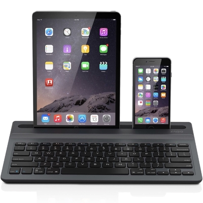Clavier AZERTY Station Keyboard Universal Bluetooth iPhone et iPad