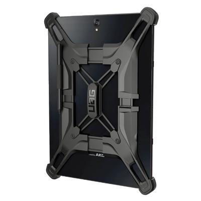 Coque Protection Pro Galaxy TAB A6 10.1 pouces avec Verre de protection ecran Exoskeleton Noir