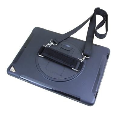 iPad PRO 12.9 2e Gen Coque Sangle Harnais main Libourne et Verre de protection ecran