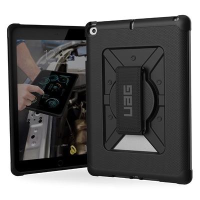 2 en 1 Verre de protection ecran New iPad 9.7 pouces et Coque renforcee Harnais main Metropolis