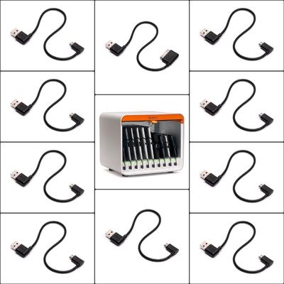 Pack 10 x Câbles Multidock Micro-Usb vers USB 165 mm
