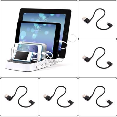 Pack 5 x Câbles Power 5 Micro-Usb vers USB 165 mm