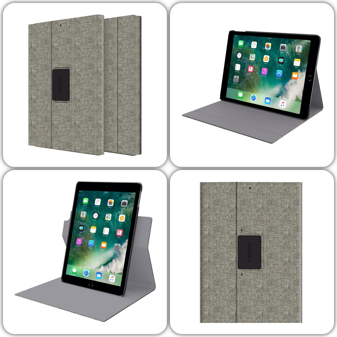 mix Folio de protection iPad 2017 9.7 pouces Etui Esquires Anis