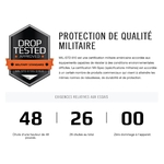 mil Protection Renforcee MacBook PRO Retina 15 pouces Coque Security Grey
