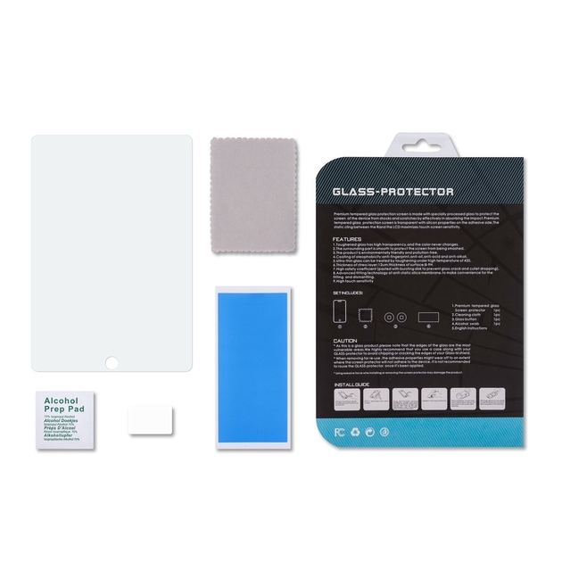 Verre renforcé de protection ecran iPad AIR 2 et iPad AIR  q
