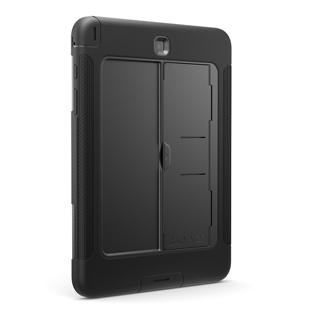 coque renforcee silicone souple et polycarbonate survivor slim galaxy tab a 9 7 pouces samsung. Black Bedroom Furniture Sets. Home Design Ideas