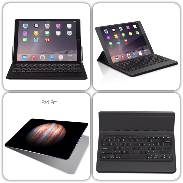 clavier azerty et support tablette ipad pro 12 9 pouces apple etuis coques ipad pro 12 9. Black Bedroom Furniture Sets. Home Design Ideas