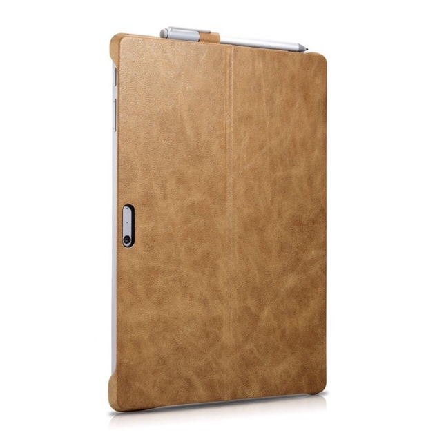 cuir Surface PRO 4 Multi Angles Leather Camel