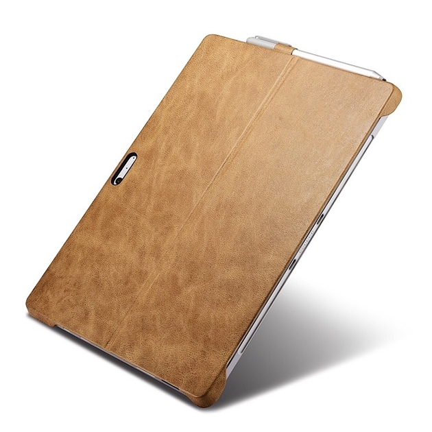 biais Surface PRO 4 Multi Angles Leather Camel