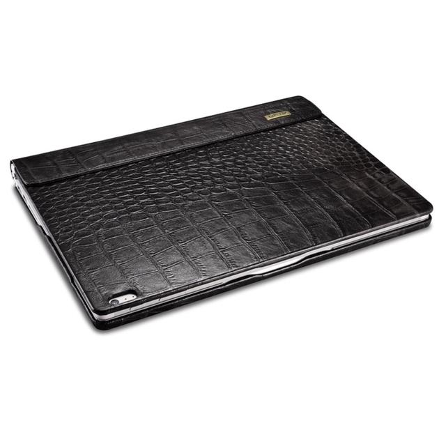 Folio Cuir Microsoft Surface BOOK Aspect Croco Noir pas cher