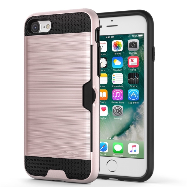 coque rose fente cb iphone 7