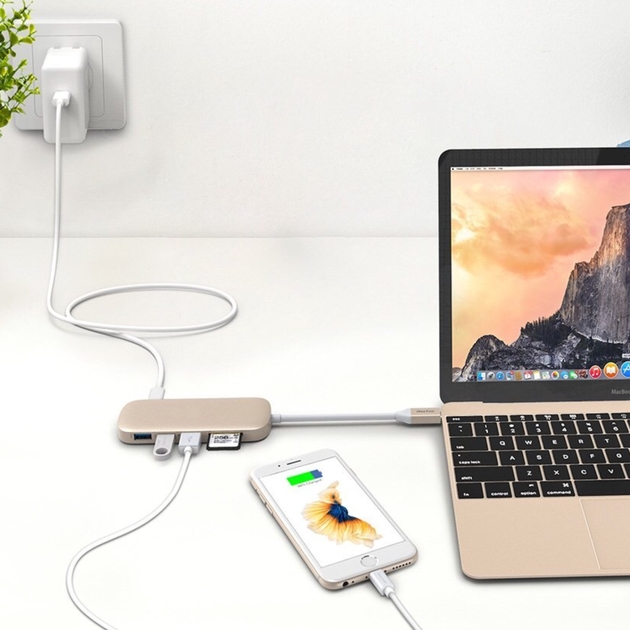 cable mix usb-c Or