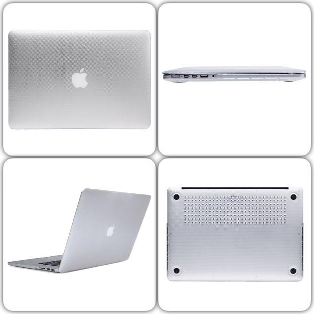 mix Coque Hardshell Incase Transparente MacBook PRO Retina 15''