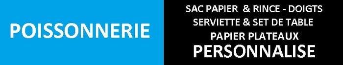 RESTAURANT Poissonnerie  SAC PAPIER- SAC BIO - SAC ECOLOGIQUE-SAC KRAFT PERSONNALISE-SAC KRAFT PAS CHER-RINCE DOIGTS PAS CHER RINCEDOIGTS PERSONNALISE