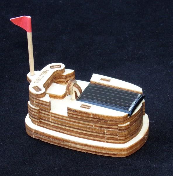 Maquette Mini Autotamponneuse solaire ~ Mini Tour A Bois Maquette