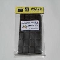 Chocolat bio noir AMANDES