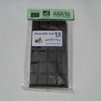 Chocolat bio noir NOISETTES