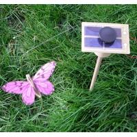 Kit PAPILLON solaire fushia 7cm