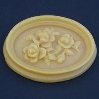 Médaillon bouquet de roses