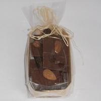 Mendiants chocolat bio au lait barquette 100gr