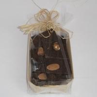 Mendiants chocolat noir bio barquette 100gr