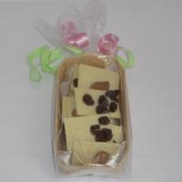 Mendiants chocolat blanc bio barquette 100gr