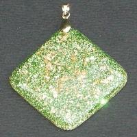 ORGONITE Losange Vert