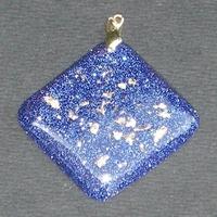 ORGONITE Losange Bleu-nuit