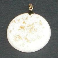 ORGONITE petit médaillon Blanc