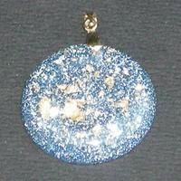 ORGONITE petit médaillon Bleu-ciel