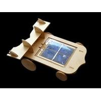 Maquette VOITURE solaire en bois