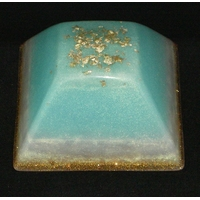 ORGONITE GRANDE PYRAMIDE INCA Turquoise