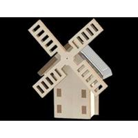 Maquette Mini Moulin Solaire