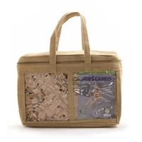Planchette en bois 400 pièces en sac de jute