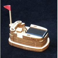 Maquette Mini Auto-tamponneuse solaire